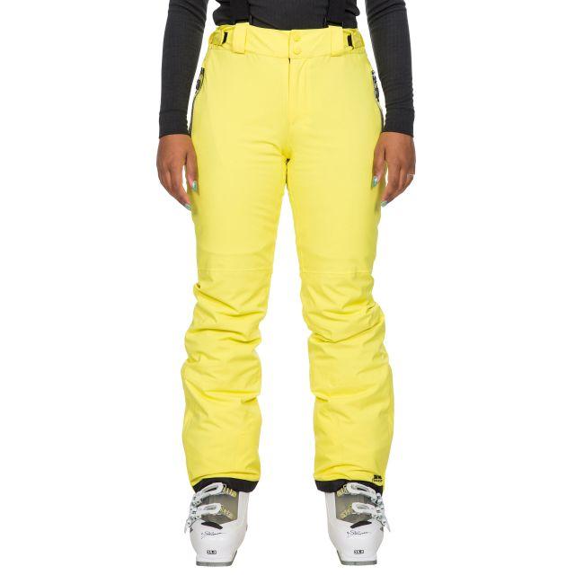 Trespass Women's Waterproof Salopettes Roseanne in Yellow