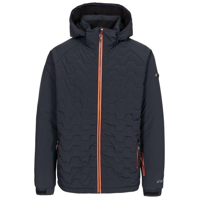Samson Men's Waterproof Ski Jacket in Black