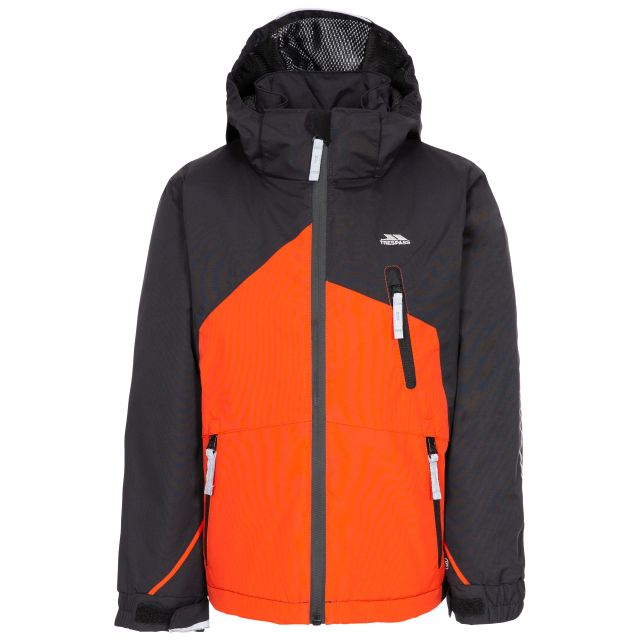 Scarce Kid's Padded Ski Jacket - BLK