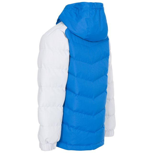 Sidespin Boys' Padded Casual Jacket in Blue