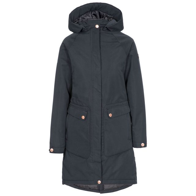 Tamara Women's Padded Waterproof Jacket in Black