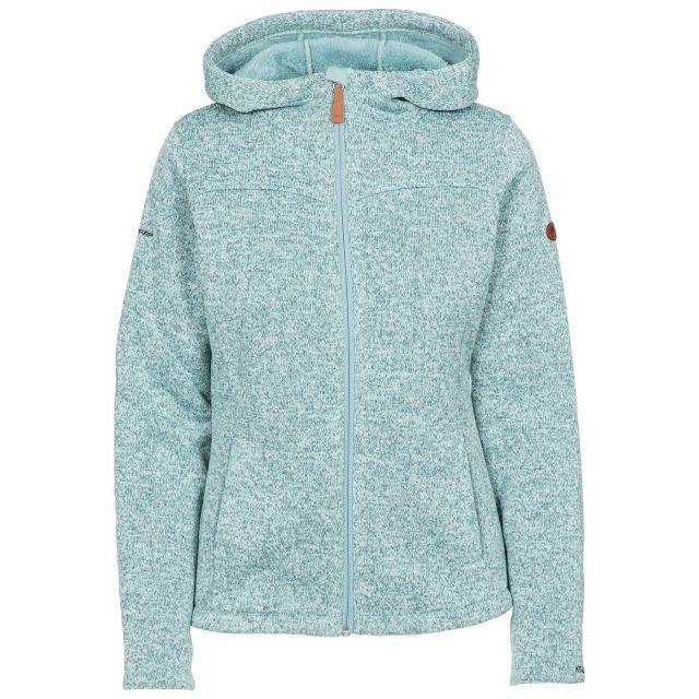 Teesta Women's Hooded Fleece in Blue