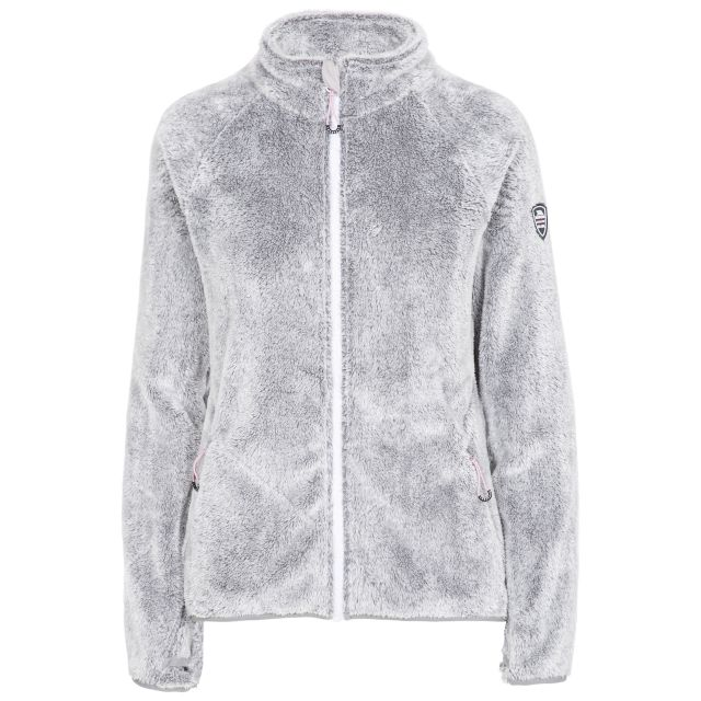 Telltale Women's Soft Furry Fleece Jacket - SIG