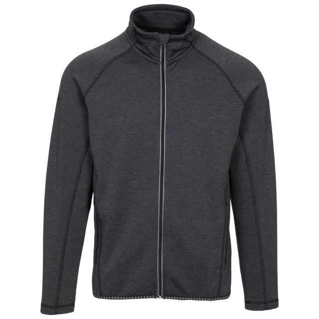 Trespass Men's Long Sleeved Active Top Tembering Grey