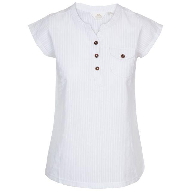 Trespass Women's Button-up Blouse Tricia White