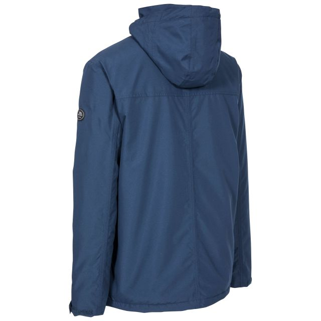 Vauxelly Men's Padded Waterproof Jacket in Navy