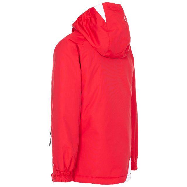 Trespass Kids Ski Jacket in Red Welcome
