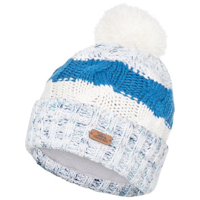 Zoya Knitted Hat in White
