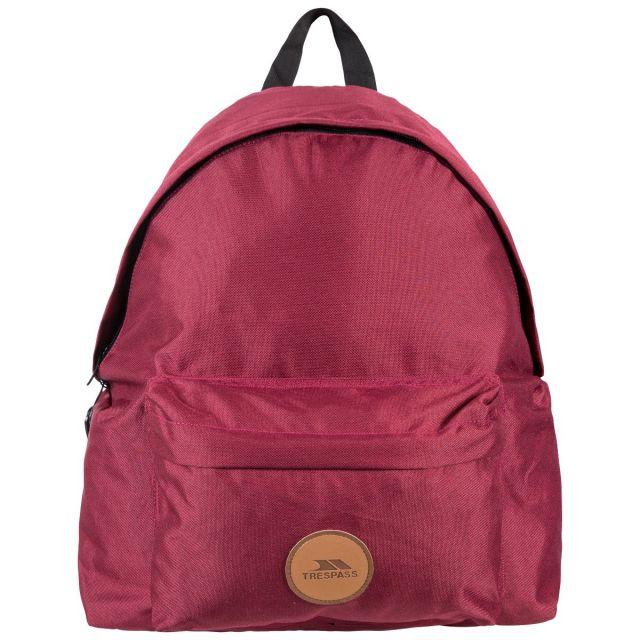 Aabner Burgundy 18L Casual Backpack - BUR, Back view