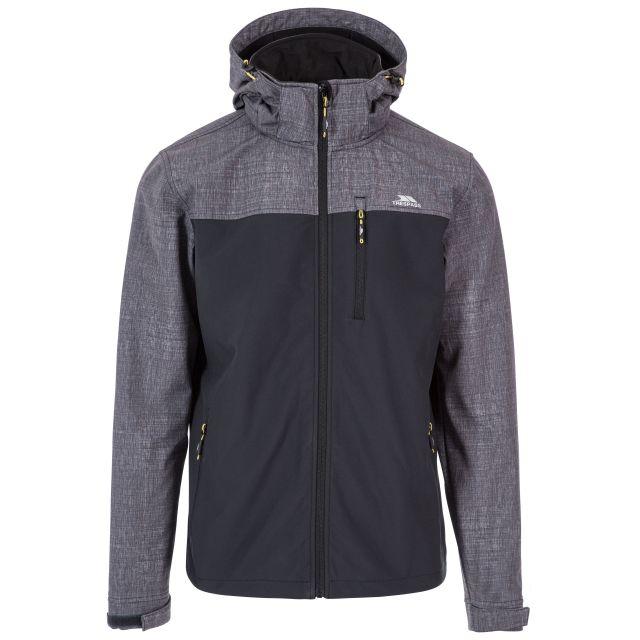Abbott Men's Breathable Softshell Jacket in Grey