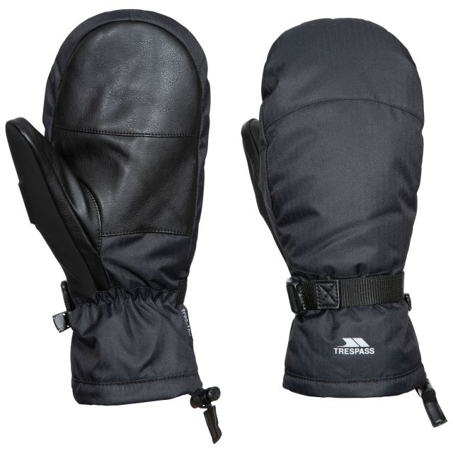 Adarek Adults' Ski Mitt in Black