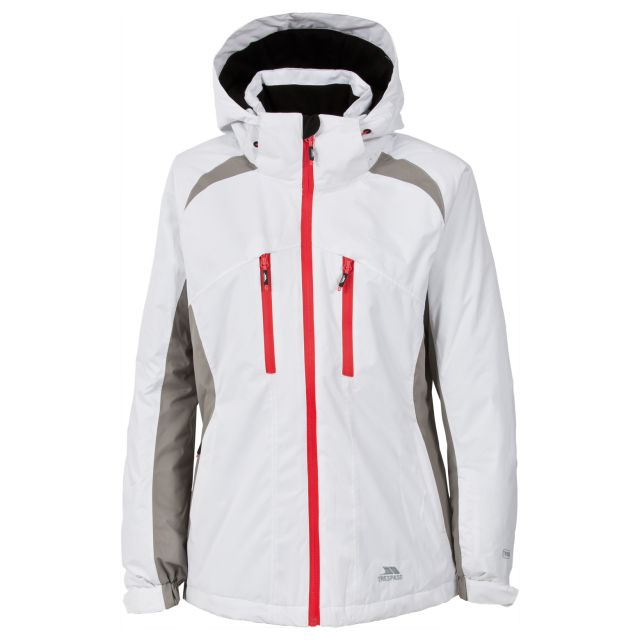 Adelena Womens Ski Jacket in White