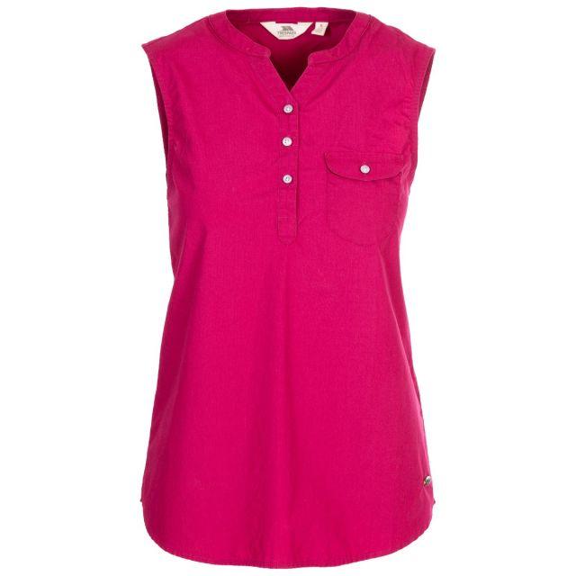 Adora Women's Sleeveless T-Shirt in Red