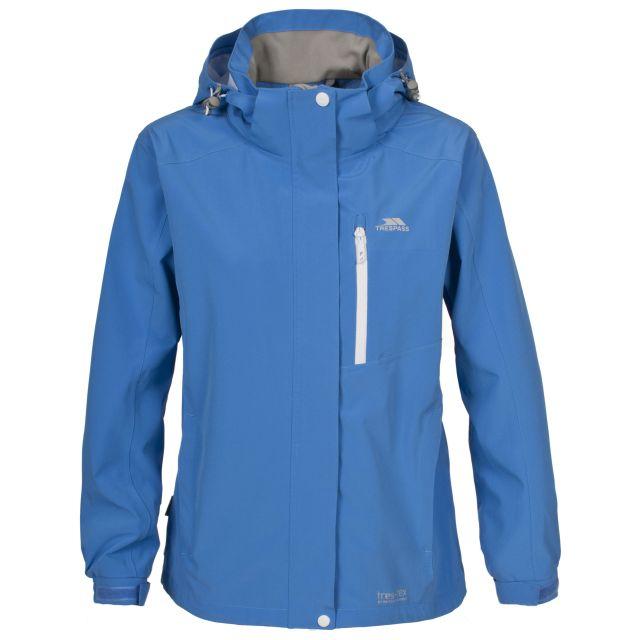 Adriana Women's Waterproof Jacket in Blue