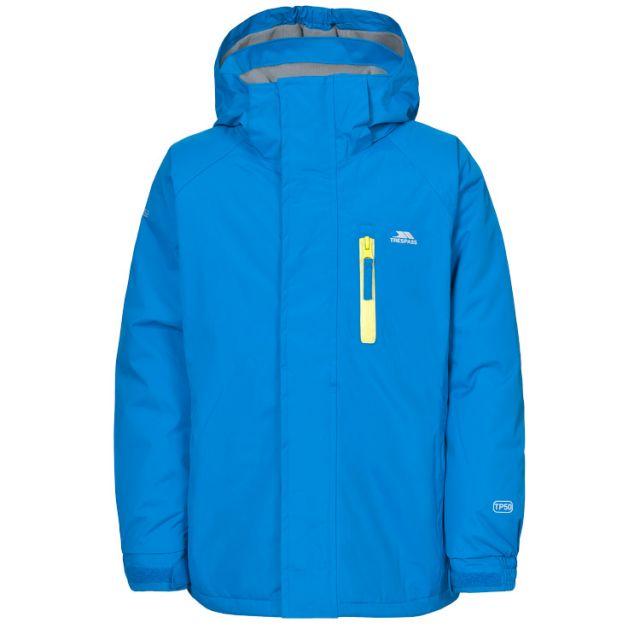 Ainslie Boys Waterproof Jacket in Blue