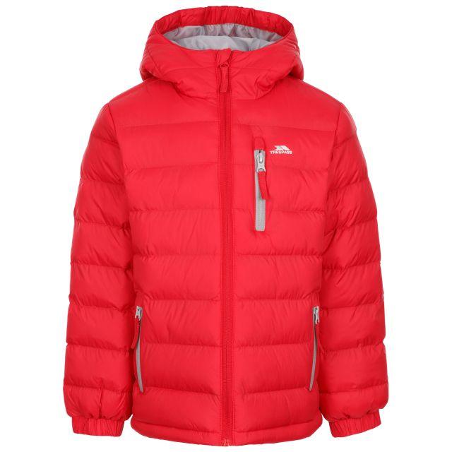 Trespass Kids' Padded Jacket Aksel - RED