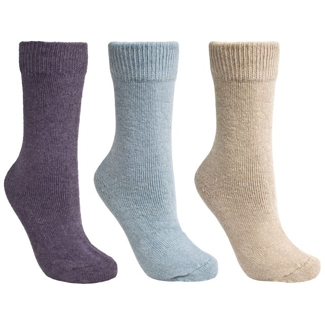 Alert Women's Casual Socks - 3 Pack in Assorted