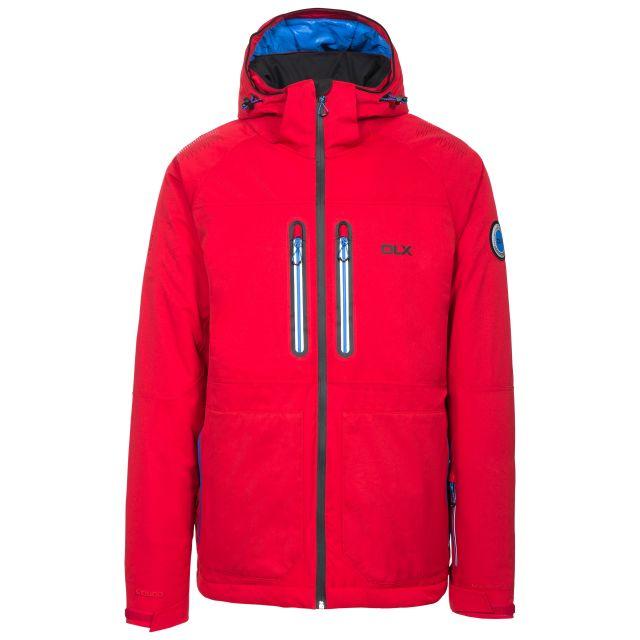 Allen Men's DLX RECCO Waterproof Ski Jacket in Red