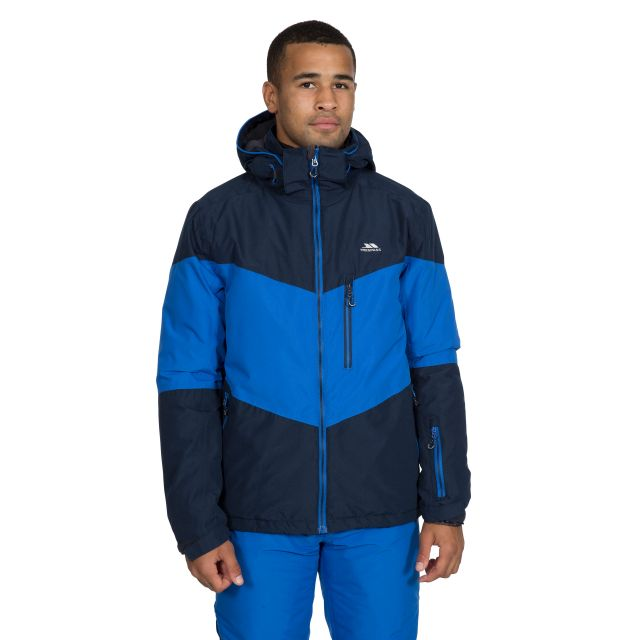 Alport Men's Waterproof Ski Jacket in Navy
