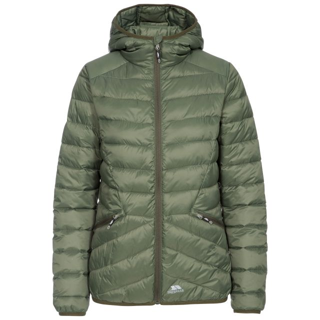 Alyssa Women's Padded Jacket in Green