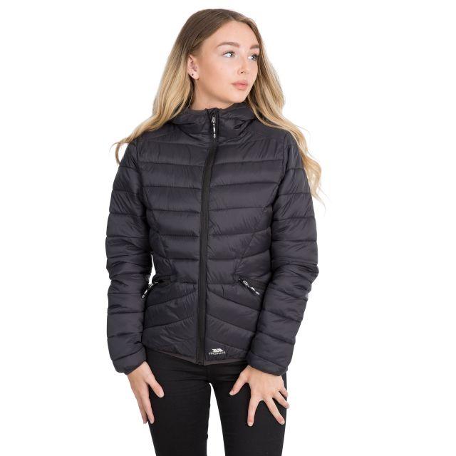 Trespass Womens Padded Jacket Alyssa in Black