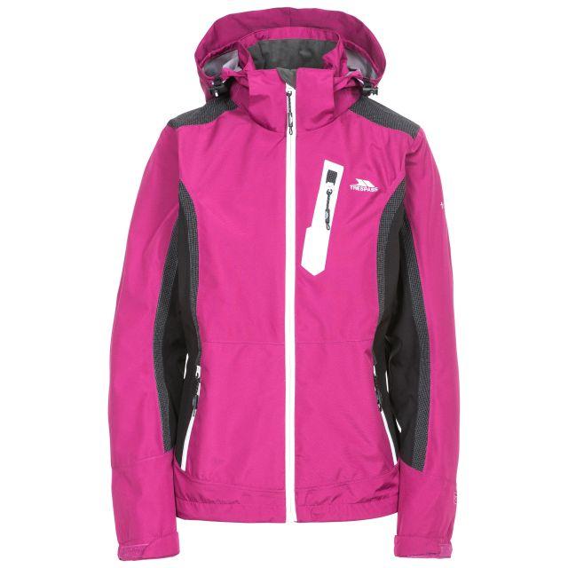 Amara Women's Water Resistant Casual Jacket in Pink