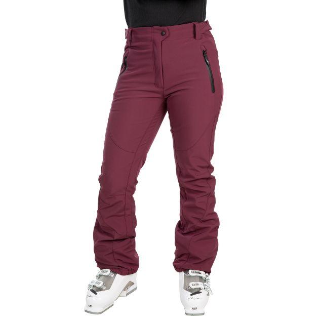 Amaura Women's Softshell Ski Trousers in Purple