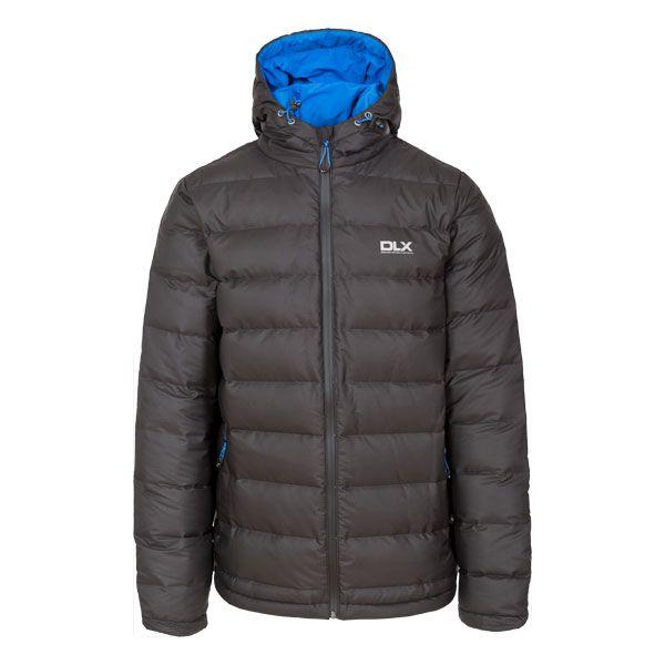 Ambrose Men's DLX Hooded Down Jacket in Black