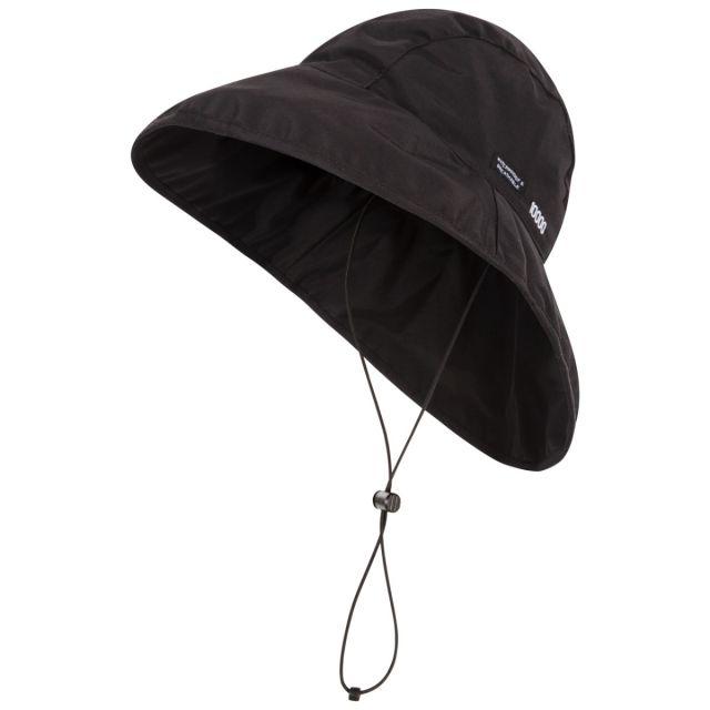 Ando Adults' DLX Waterproof Rain Hat in Black