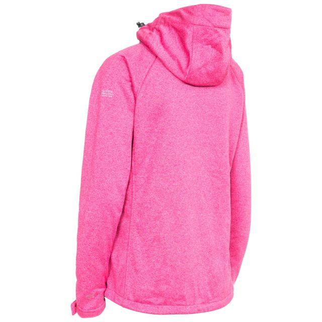 Angela Women's Windproof Softshell Jacket in Pink