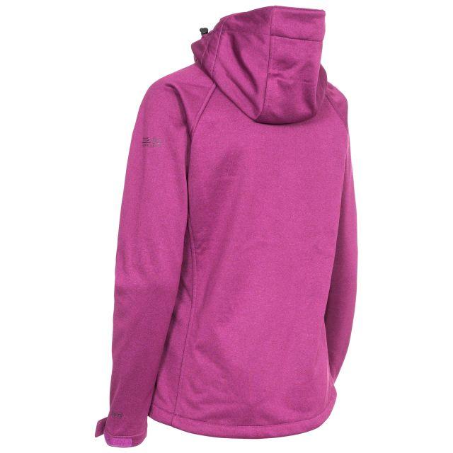 Angela Women's Windproof Softshell Jacket in Purple