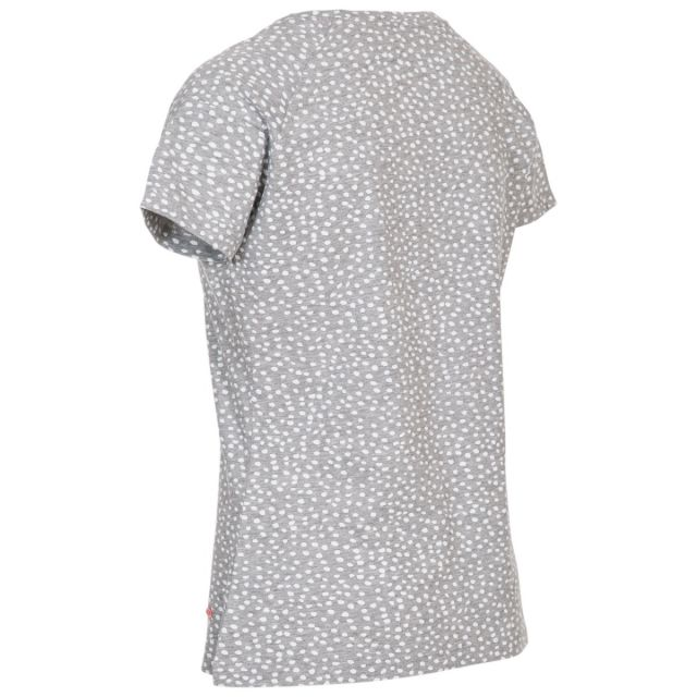 Ani Women's Printed T-Shirt Geymelange-poppy