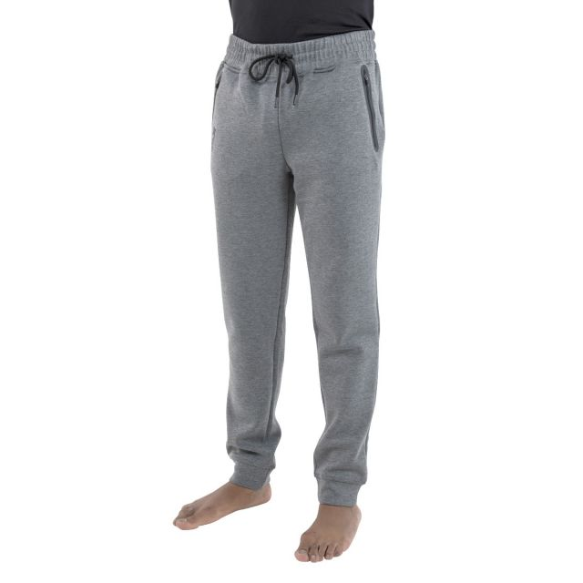 Apoc Men's DLX Tracksuit Bottoms in Light Grey