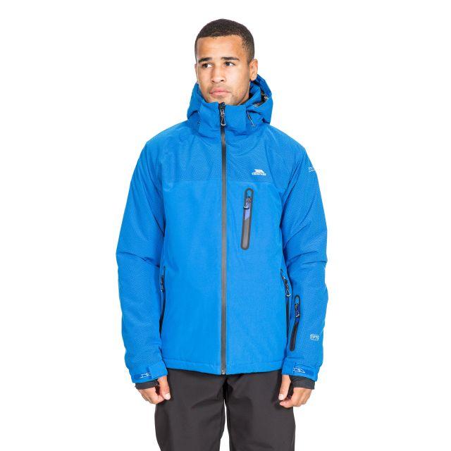 Appin Men's Waterproof Ski Jacket in Blue