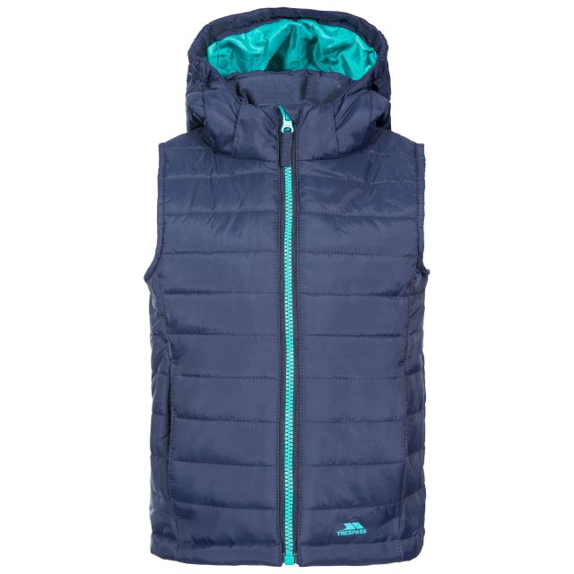 Aretha Kids' Casual Gilet in Navy