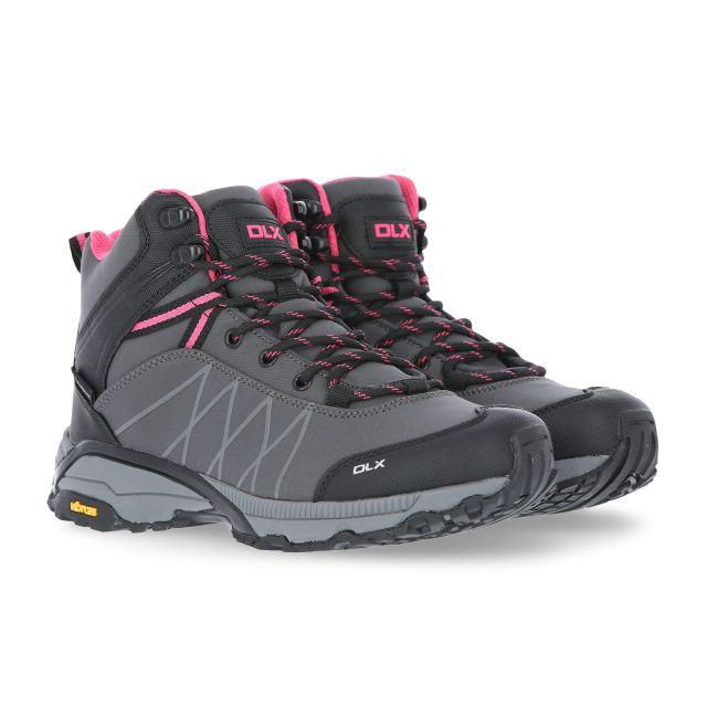 Arlington II Womens DLX Walking Boots in Grey