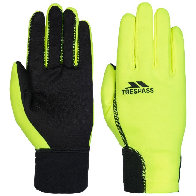 Atherton Unisex Gloves in Yellow