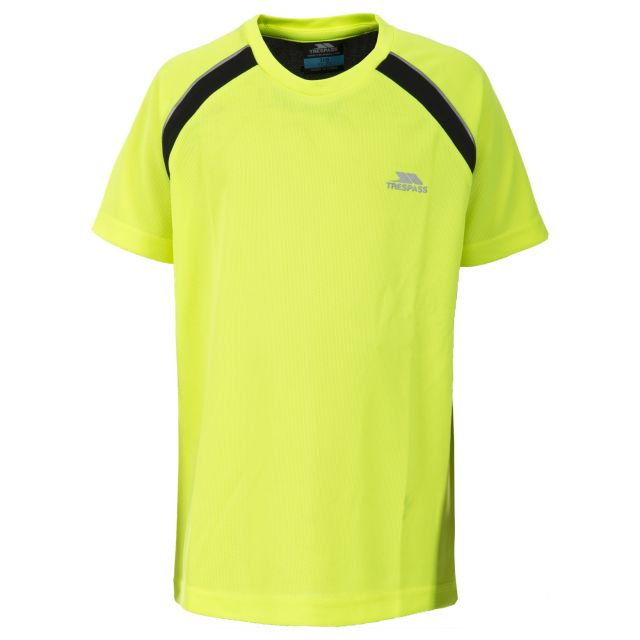 Attention Kids' Active T-Shirt in Yellow