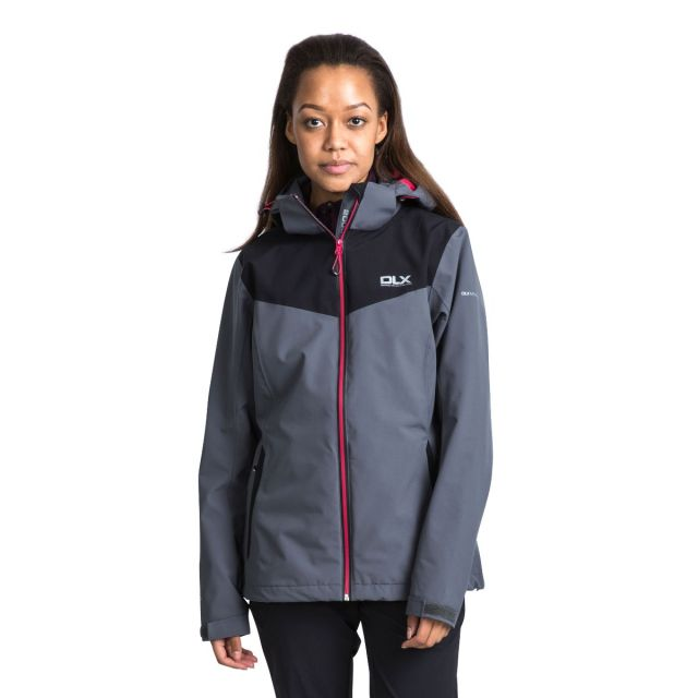 DLX Womens Softshell Jacket High Performance Audray Grey