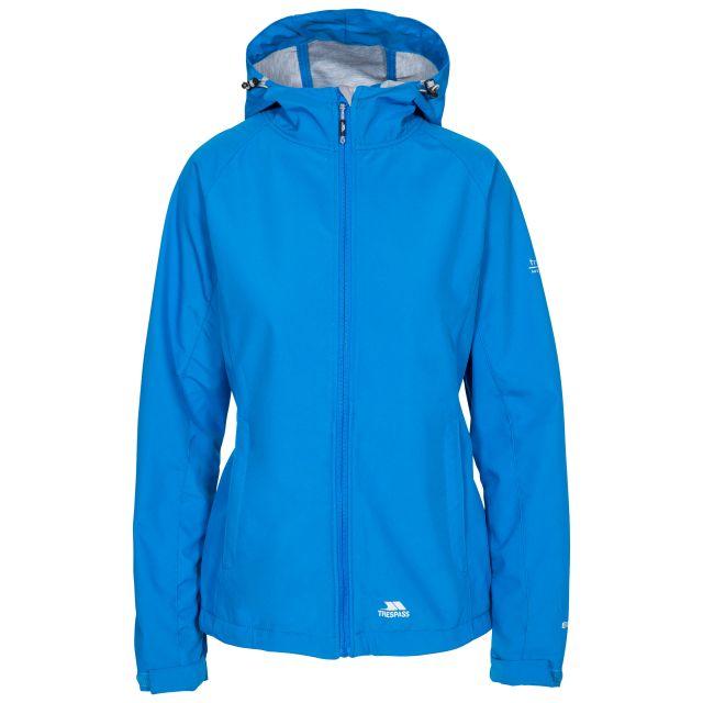 Trespass Womens Softshell Jacket with Hood Avianna Blue
