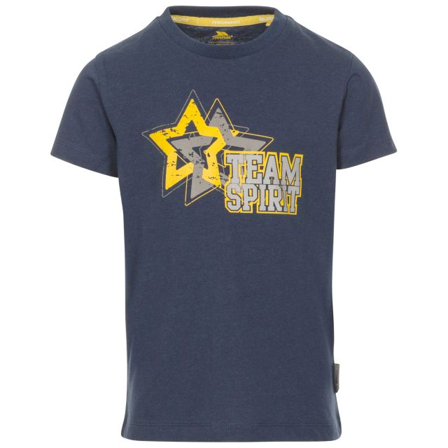 Awestruck Kids' Printed T-Shirt in Navy