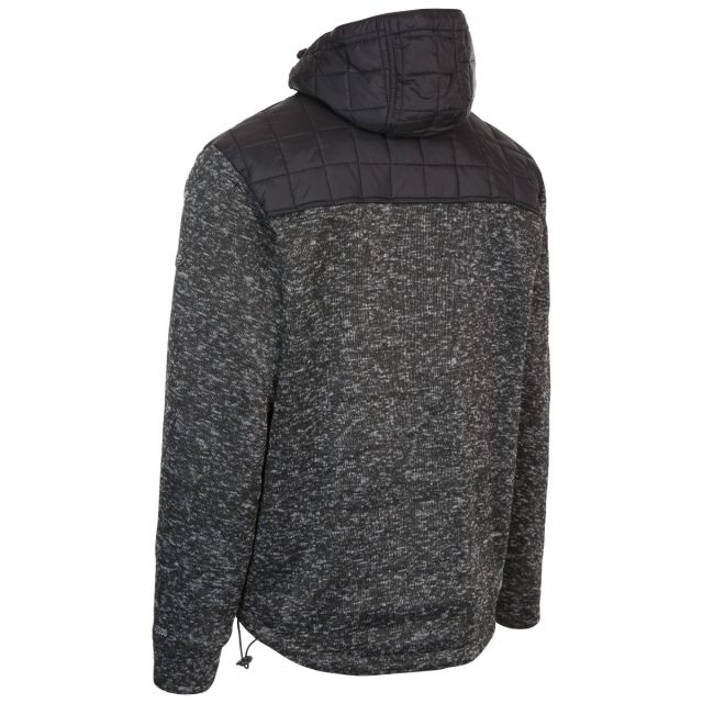 Axleydon Men's Hooded Fleece in Black