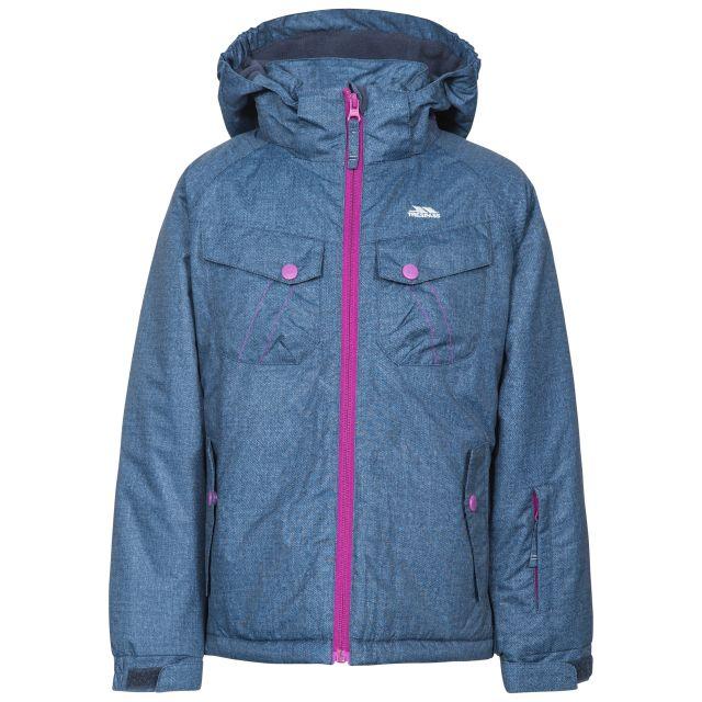 Backspin Girls' Denim Effect Padded Ski Jacket