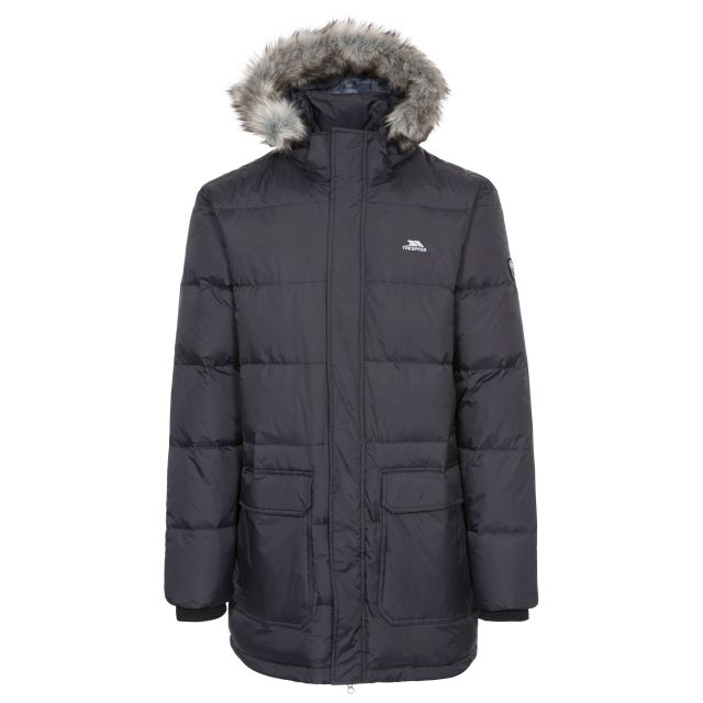Baird Men's Down Parka Jacket - BLK