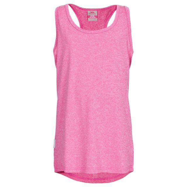 Trespass Girls Active Vest in Pink Bali