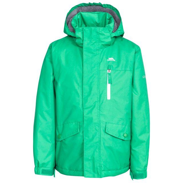 Ballast Kids' Padded Waterproof Jacket in Green