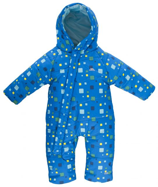 Balu Babies Padded Snow Suit in Blue