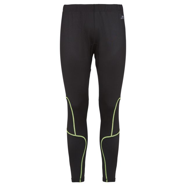Bang Mens Full Length Active Trousers in Black