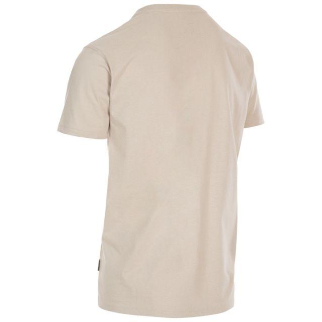 Trespass Men's Casual Short Sleeve Graphic Mountainscape T-Shirt Barnstaple Mushroom