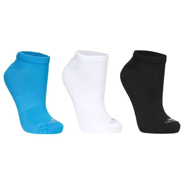 Barricade Women's Trainer Socks in Turquoise